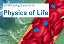49th IFF Spring School - Physics of Life