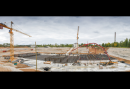 The first concrete was poured at the construction site of MBIR reactor in Dimitrovgrad