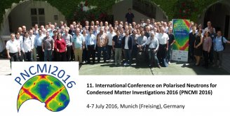 120 scientists discuss polarized neutrons on the Domberg in Freising