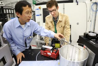 Feeling the need for speed, neutrons study fluid flow for hypersonic flight