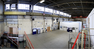 The ESS high-beta cavity assembly and testing area at Daresbury Laboratory.