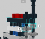 How to build LEGO models of neutron scattering instruments